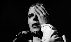 David Bowie, Copenhagen 1976.