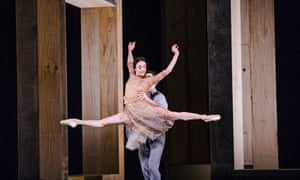 Alessandra Ferri and Federico Bonelli in Part 1: I Now, I Then from Woolf Works by the Royal Ballet.