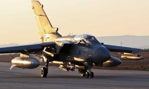 RAF Tornado GR4  in Iraq in September 2014