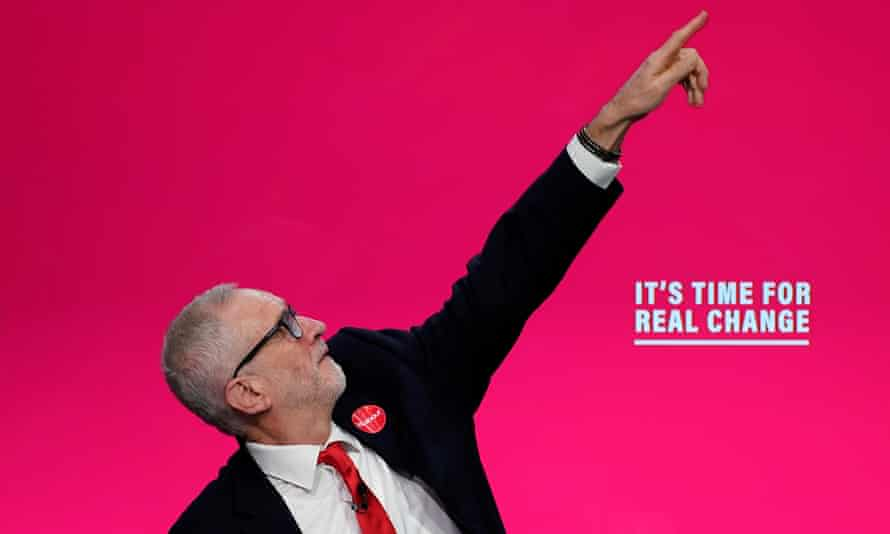 Jeremy Corbyn launches the Labour party's manifesto