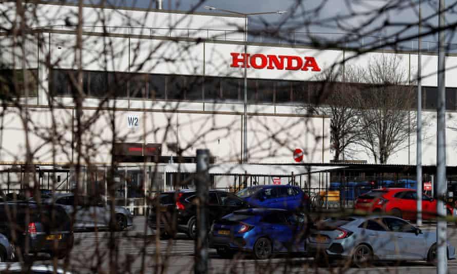 The Honda plant at Swindon makes the Civic car.