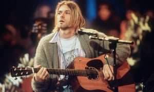 'A genuine rock star, possibly the last one': Kurt Cobain during the recording of Nirvana's MTV Unplugged, New York, November 1993