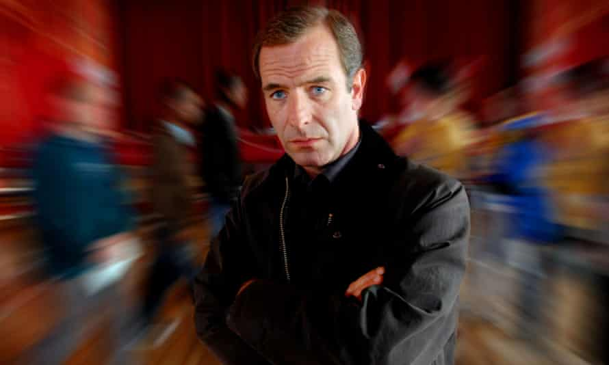 Robson Green in the TV series Wire in the Blood, based on characters created by Val McDermid.