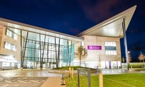 Inverness College Campus building.