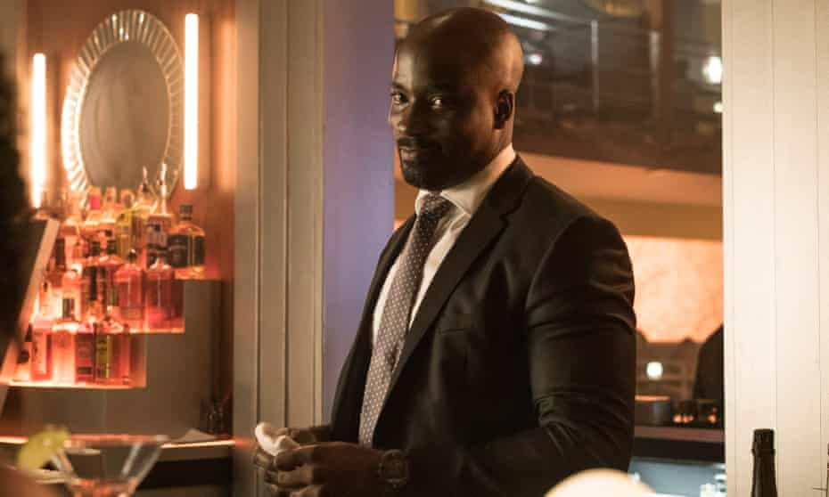 'The show is as uncompromisingly savage in its depiction of criminal underworlds and localised political corruption as Boardwalk Empire and The Wire' ... Mike Colter in Luke Cage