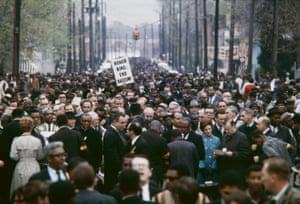 Honor King, End Racism: Martin Luther King Funeral March in Memphis, Tennessee, April 1968