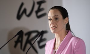 Annunziata Rees-Mogg, who is expected to announce she is leaving the Brexit party this morning.