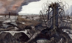 Detail from Wire by Paul Nash (1918), one of the artworks from the first world war to be displayed in IWM's People Power exhibition.