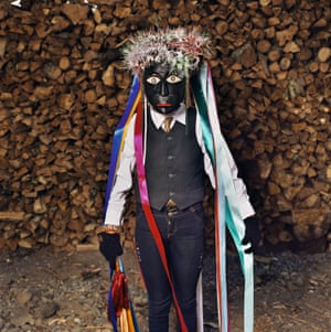 Negrito with Lacquered Mask and Ribbons, Corupo 2017