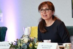 Cristiana Paşca Palmer, the UN's biodiversity chief