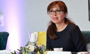 Cristiana Paşca Palmer, executive secretary of the Convention on Biological Diversity.
