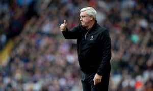 Steve Bruce took Aston Villa to the Championship play-off final last season. They are now 15th in the league.