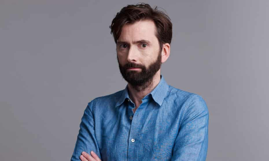 The actor David Tennant photographed in London for the Observer New Review by Suki Dhanda February 2019