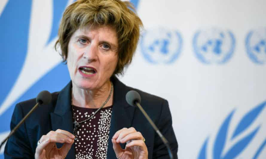 United Nations deputy high commissioner for human rights, Kate Gilmore.