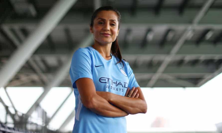 Manchester City's new signing Nadia Nadim.