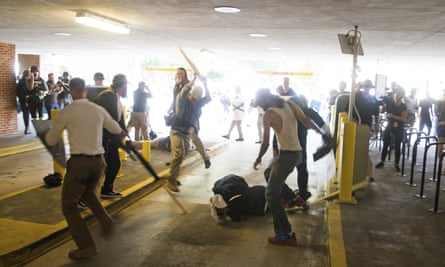 violence at white nationalist rally