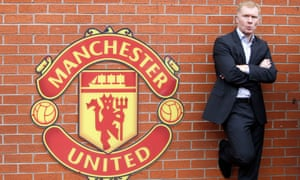 Paul Scholes' standing with the fans is causing problems for Van Gaal.
