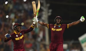 West Indies celebrate beating England at Eden Gardens in January, but they are leading the battle to regulate the format more thoroughly.