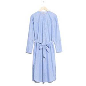 Poplin shirt dress, £65, stories.com.