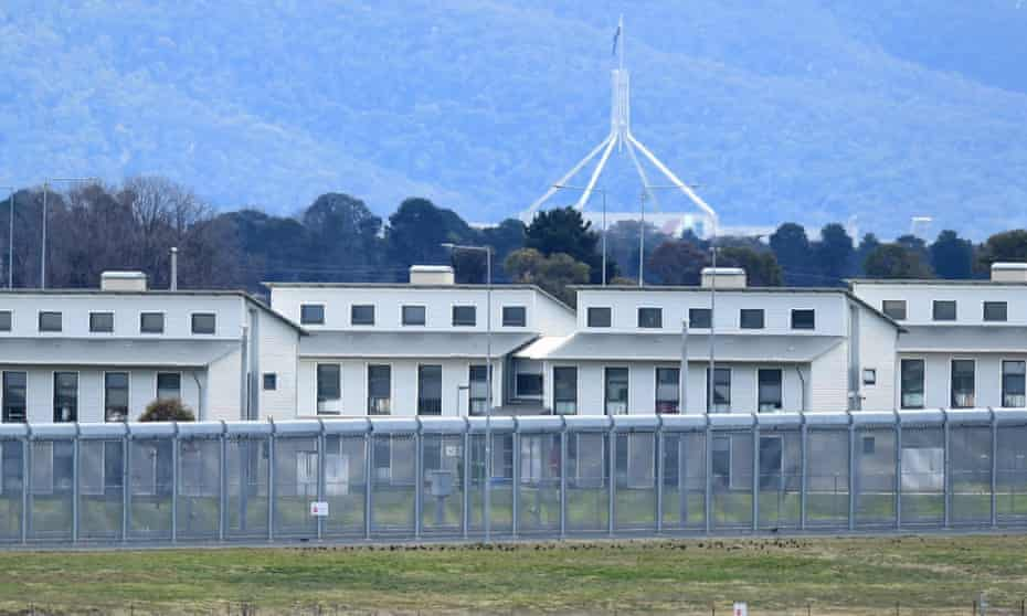 A general view of the Alexander Maconochie correctional centre, in Canberra Australian Capital Territory