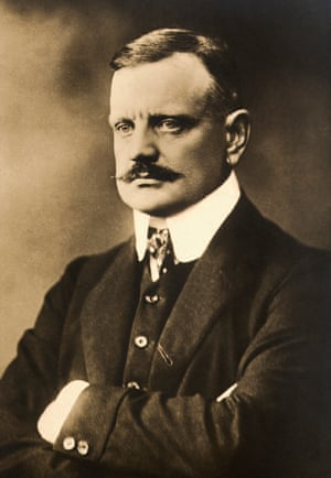 More strings to his bow… Sibelius in 1913.