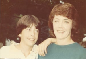 Virginia Grohl with Dave as a young boy