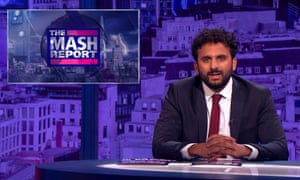 Nish Kumar on The Mash Report.
