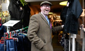 Paul Nuttall out campaigning in Whitehaven.