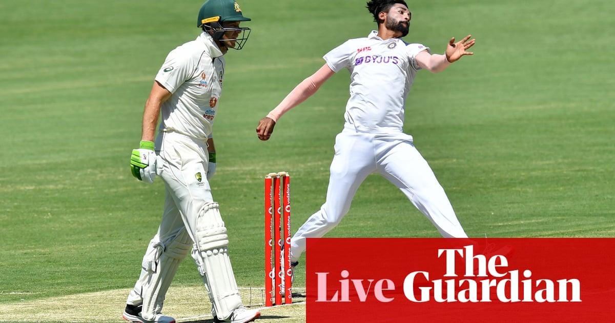 Australia v India: fourth Test, day two – live!