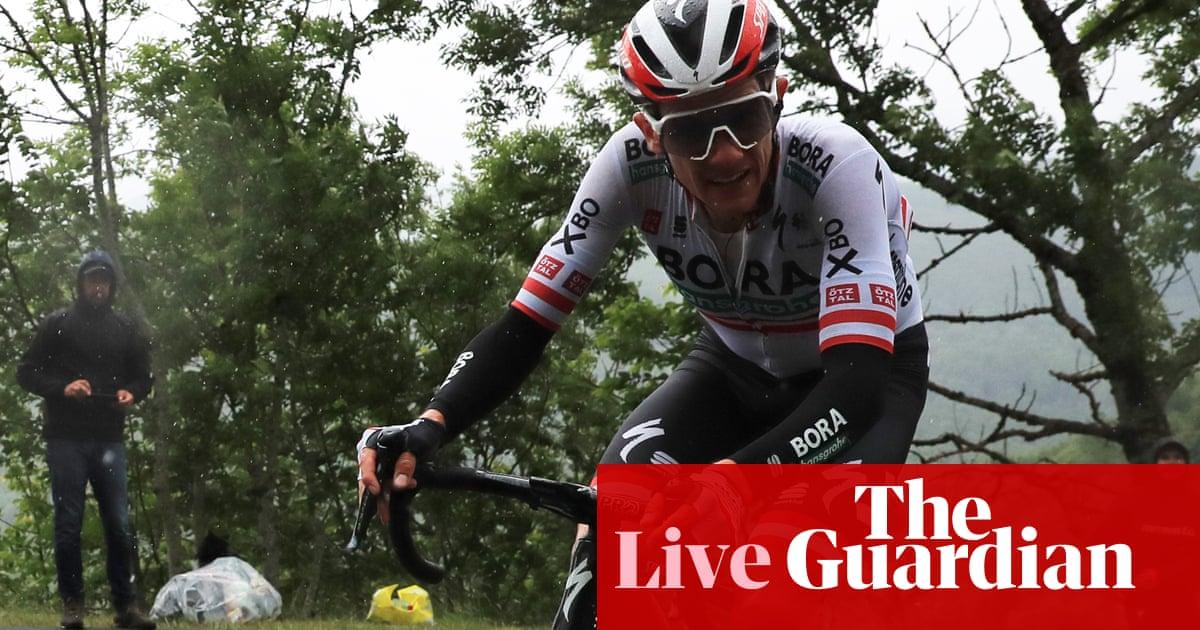 Tour de France: Patrick Konrad wins stage 16 – as it happened