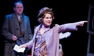 'Dims the spotlight of optimism'... Imelda Staunton in Gypsy.