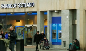 Branch of the Bank of Scotland with