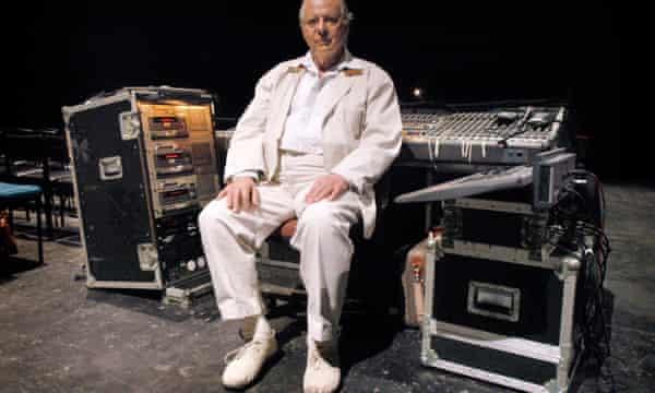 Karlheinz Stockhausen performing in Scotland's 2005 Triptycht festival