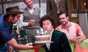 till fascinating … Mark Gatiss in Boys in the Band is at the Vaudeville theatre, London.