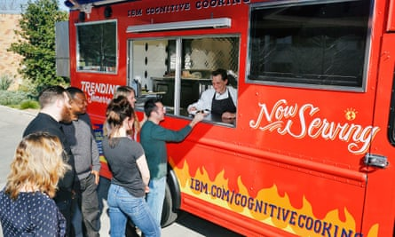 A food truck serving recipes dreamed up by IBM's Watson supercomputer.