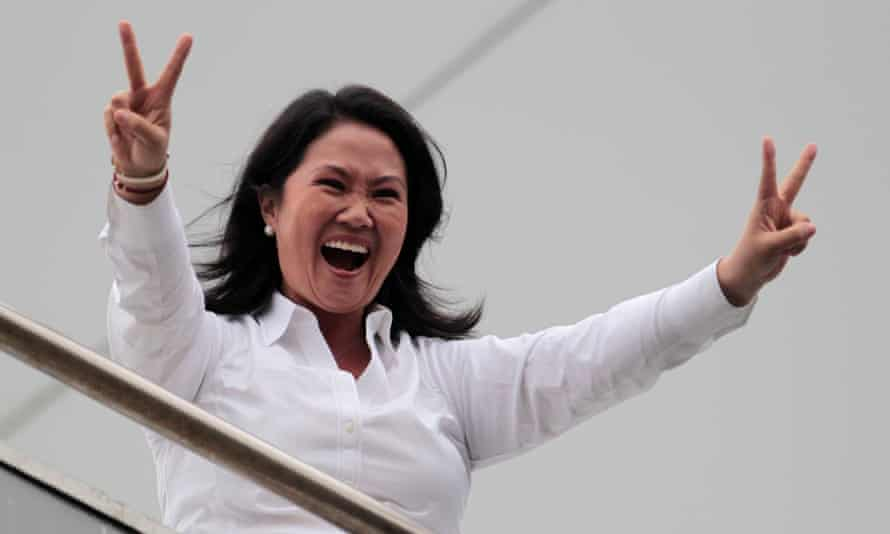 Keiko Fujimori was the target of a campaign against the legacy of her father.
