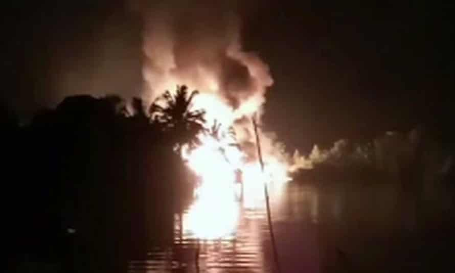 More than 50 people are missing a leaking oil pipeline exploded in Nembe, Nigeria.