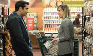 'The romantic comedy has become something of an ailed genre of late but The Big Sick is a welcome jolt' ... Kumail Nanjiani and Zoe Kazan.