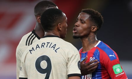 Wilfried Zaha and Anthony Martial both struggled to make an impact early in their United careers.