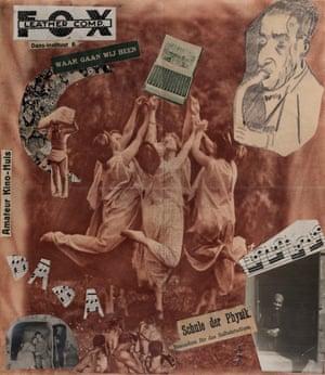 Erwin Blumenfeld, Dada Dancers