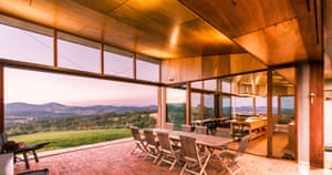 Interiors for Austin McFarland Architects's acclaimed and bushfire resistant home.