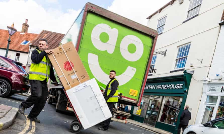 AO delivery van