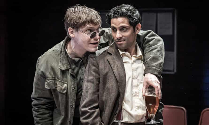 A scene from Europe at the Donmar Warehouse.
