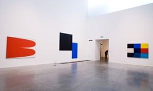 Ellsworth Kelly's retrospective at Tate Modern, London.