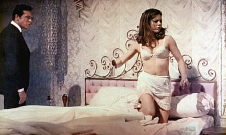 Patty Duke and Paul Burke in a still from the 1967 film Valley of the Dolls