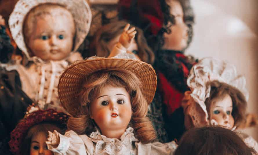 To be a collector of antique dolls is to be seen through a glacial mass of cultural prejudice.