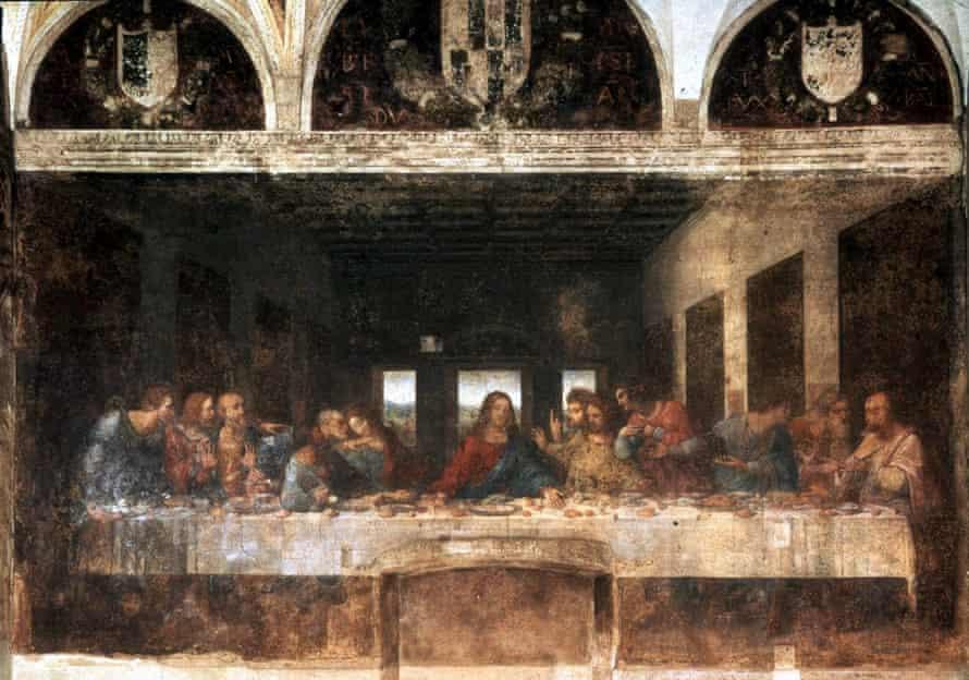 The Last Supper, 1490-97 by Leonardo da Vinci