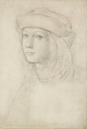 Portrait of a youth (self-portrait?), c. 1500–1