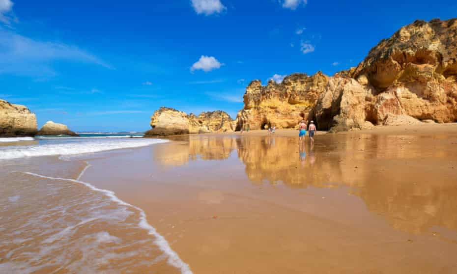 Tres Irmaos beach, Portimao, Alvor