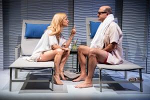 Ilana Becker and Matt Servito in Emma and Max.